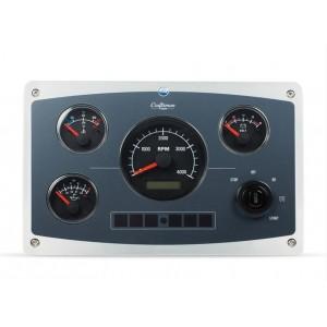 Motorinstrumentpanel ALFA 30E varvräknare.