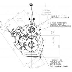 PRM 280DP2 hydr.backslag