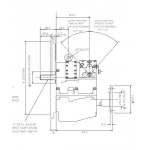 PRM 750D2,5 hydr. scheepskeerkoppeling
