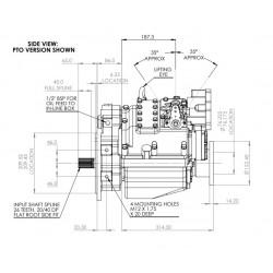 PRM 750C2 hydr. scheepskeerkoppeling