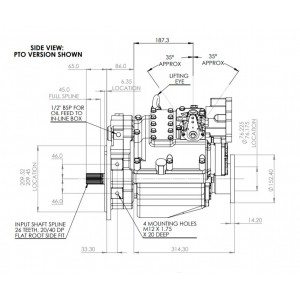 PRM750C2 hydrauliskt backslag.