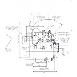 PRM1000D1,5 hydrauliskt backslag.