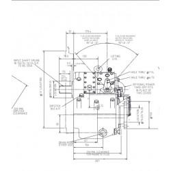 PRM 1000D4 hydr. scheepskeerkoppeling