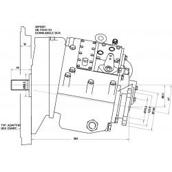PRM 1000A1,5 hydr. scheepskeerkoppeling