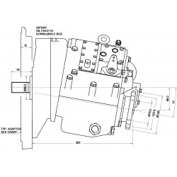 PRM 1000A3 hydr. scheepskeerkoppeling