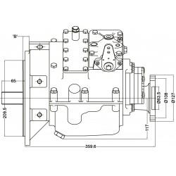PRM 260C2 in-line scheepskeerkoppeling
