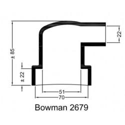 Rubberen mof Bowman 2679