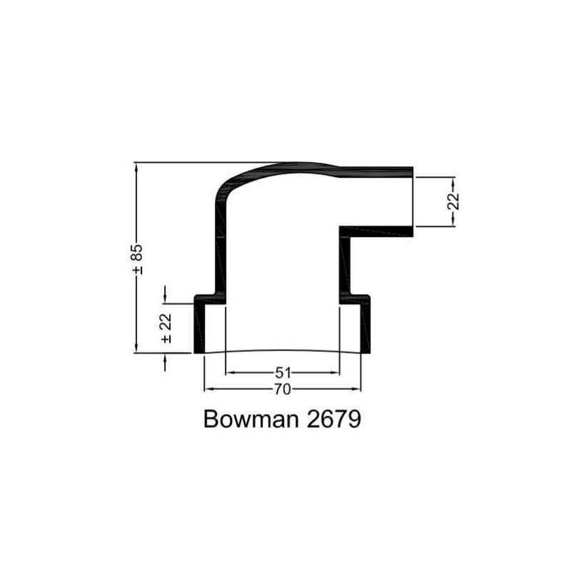 Bowman Gummihylsa 2679