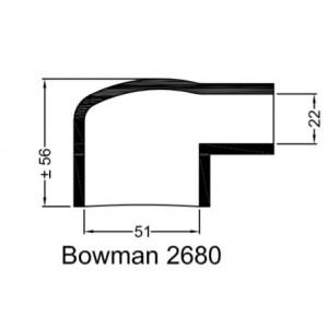Rubberen mof Bowman 2680