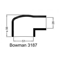 Rubberen mof Bowman 3187