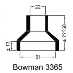 Bowman Gummihylsa 3365