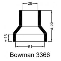 Rubberen mof Bowman 3366