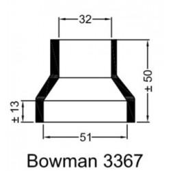 Rubberen mof Bowman 3367