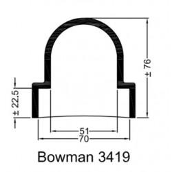 Bowman Gummihylsa 3419