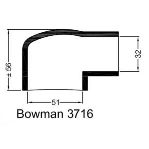 Rubberen mof Bowman 3716