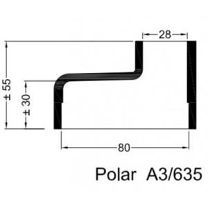 A3/635 Gummihylsa POLAR.