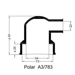 A3/783 Rubberen mof v. POLAR