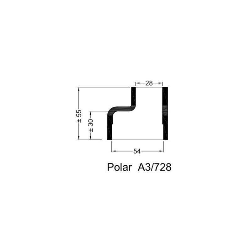 A3/728 Rubberen mof v. POLAR