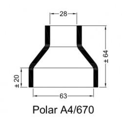 A4/670 Rubberen mof v. POLAR