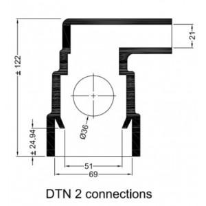 Gummihylsa Peugeot DTN 2
