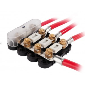 Fuse holder incl. cover 500A (5 pcs)