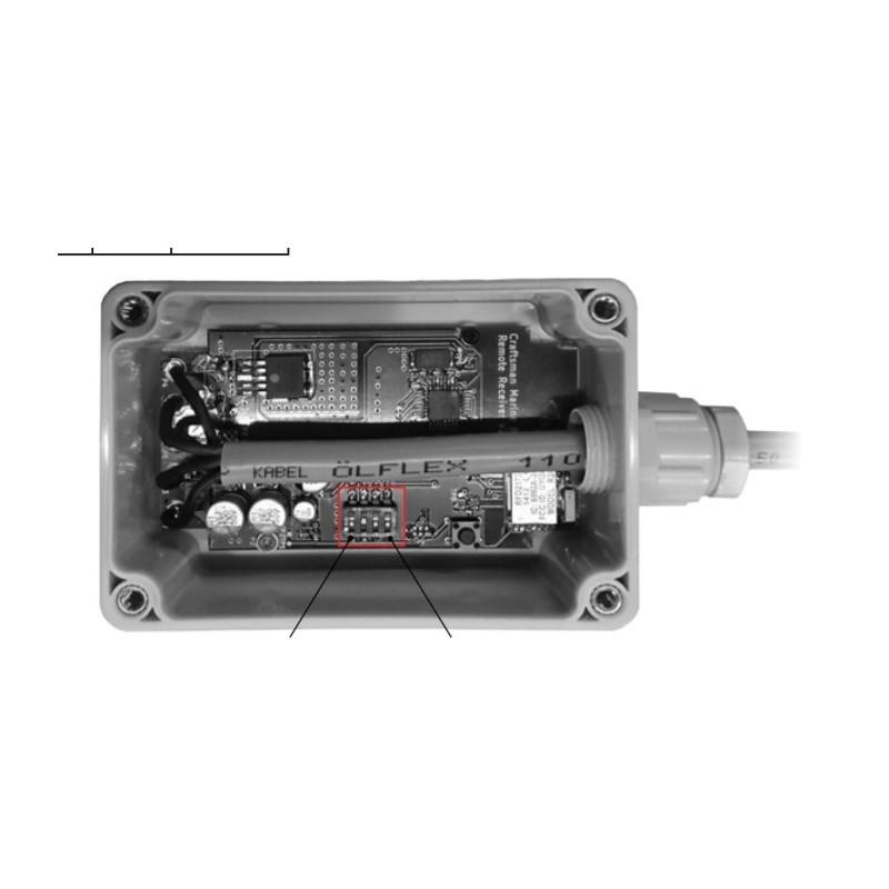 ALFAxxR Remote control receiver