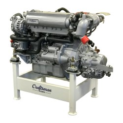 Marin dieselmotor CM4.52 med backslag.