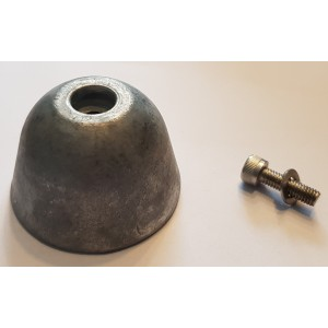 Aluminium anod sats 55kgf
