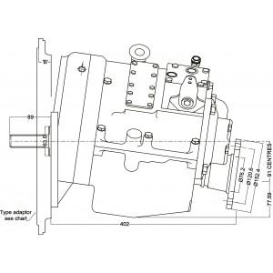 PRM 750A2 hydr. scheepskeerkoppeling