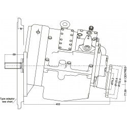 PRM750A1,5 hydrauliskt backslag.