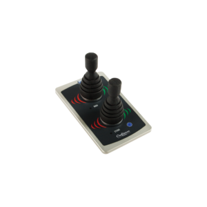 ALFA30H panel med dubbel-joystick.
