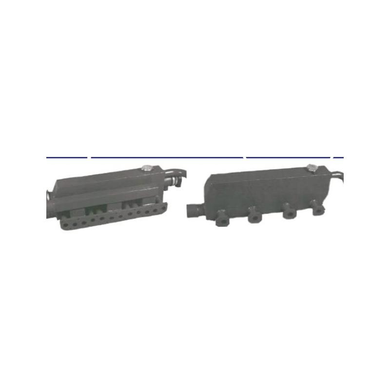 Avgasgrenrör + värmeväxlare + inlopp WGK DAF 575