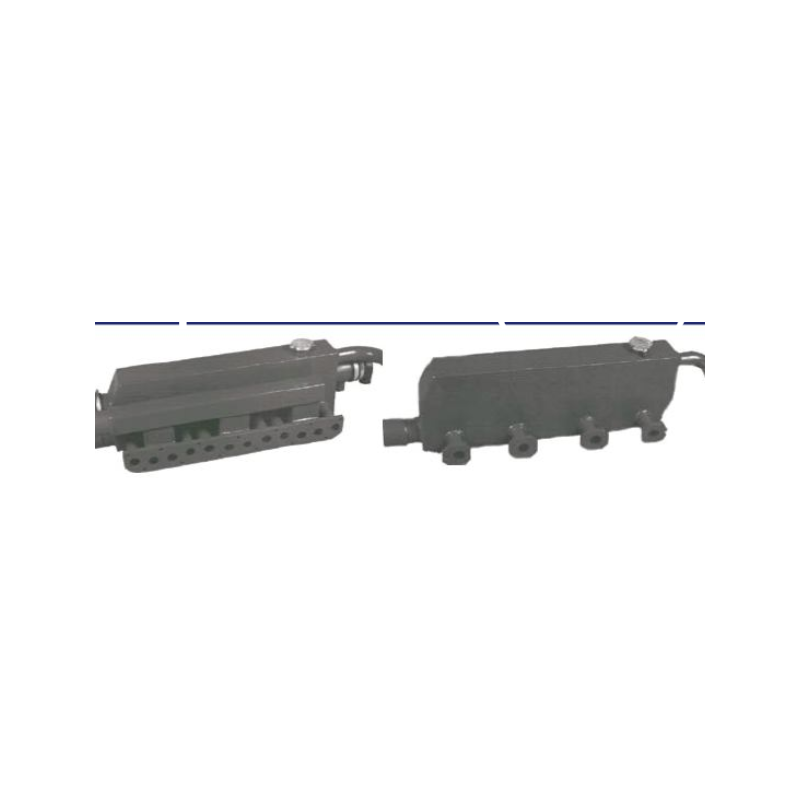 Avgasgrenrör + värmeväxlare + inlopp WGK Peugeot XUD