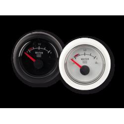 Tankmätare vatten , 12V, black