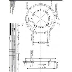 Adapter SAE4/SAE7 i stål.