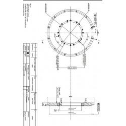 Adapter SAE3/SAE7 stål.
