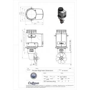 Thruster 95kgf 12V