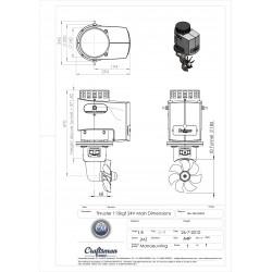Thruster 115kgf 24V