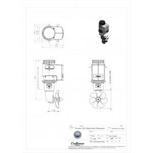 Thruster 150 kgf 24V