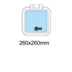 Däckslucka 260x260mm