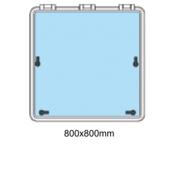 Däckslucka 800x800mm