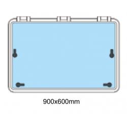 Däckslucka med fläns 900x600mm