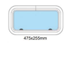 Porthål 475x255mm stängd