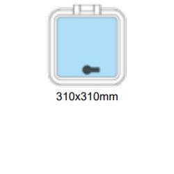 Flushline däckslucka 310x310mm