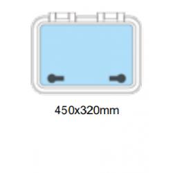 Flushline däckslucka 450x320mm