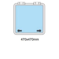 Flushline däckslucka 470x470mm