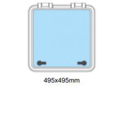 Flushline däckslucka 495x495mm R-95