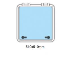 Flushline däckslucka 510x510mm