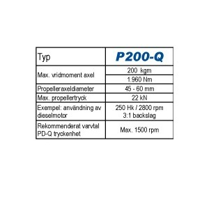 Python-Drive P200-Q.
