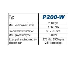Python-Drive P200-W.